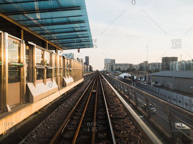 Copenhagen, Denmark - October 1, 2016: Train station