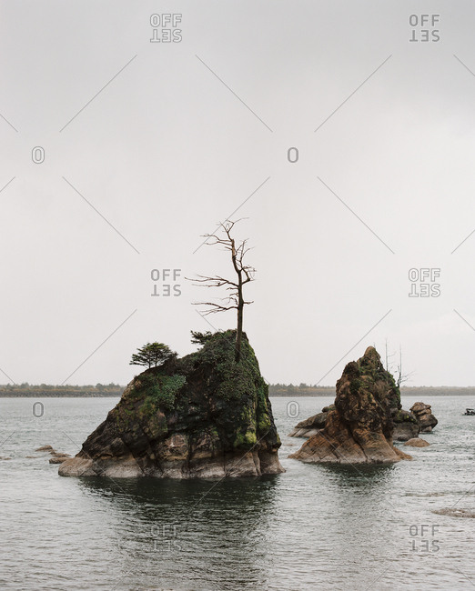 Rock formations off the coast of Oregon
