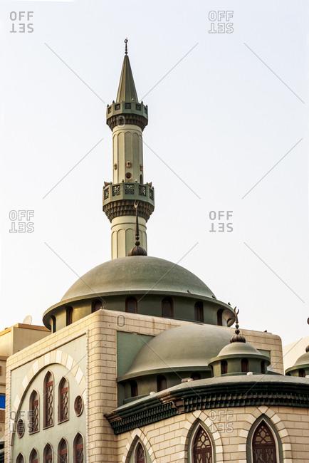 Mosque in old town of Dubai, UAE.