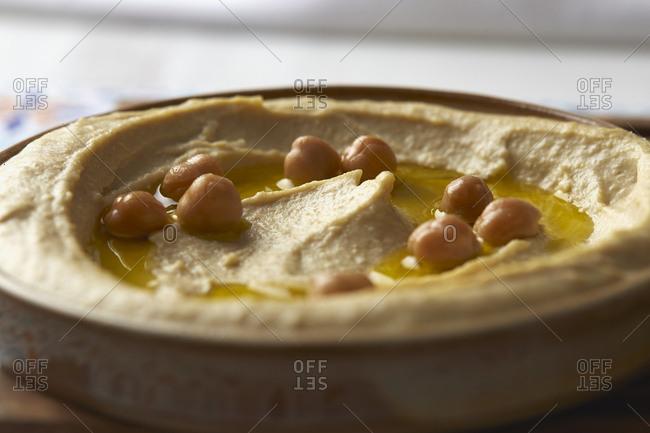 Hummus with Chickpeas