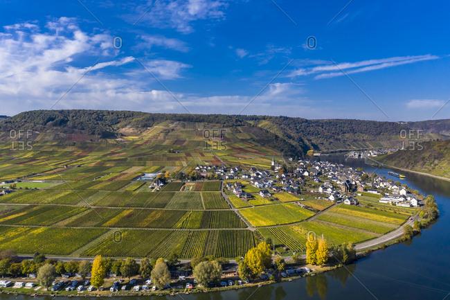 Germany- Rhineland-Palatinate- Poltersdorf- Moselle river