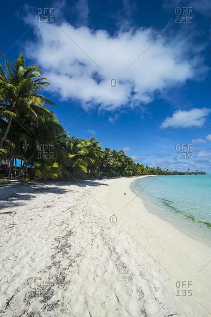 Cook Islands- Rarotonga- Aitutaki lagoon- beach