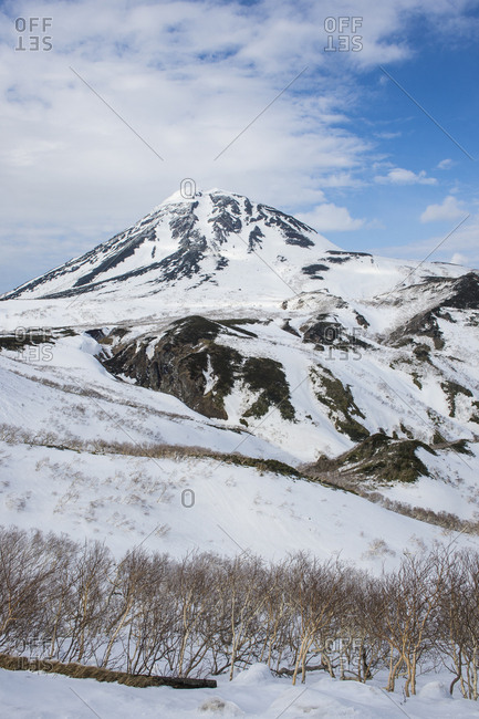 Hokkaido- Shiretoko National Park- Snowcapped mountains