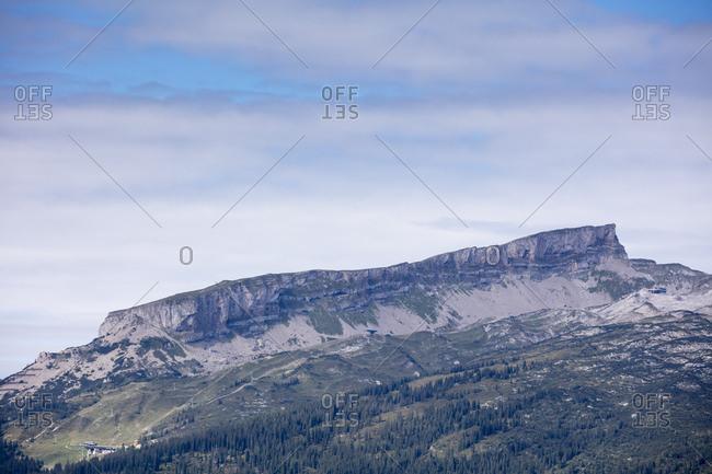 Austria- Vorarlberg- Allgaeu Alps- Little Walser Valley- Hoher Ifen