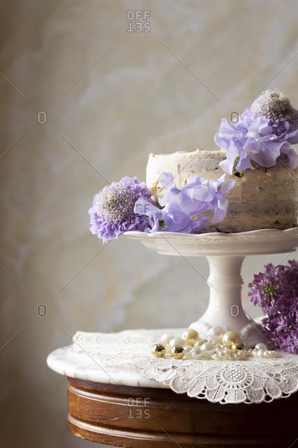 Vanilla butter wedding cake