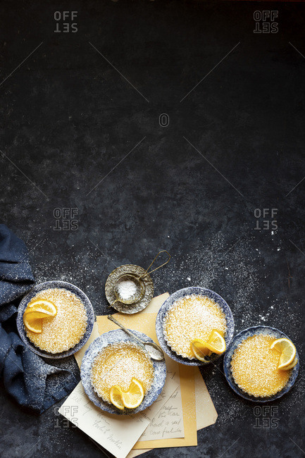 Gluten-free Meyer Lemon Tart