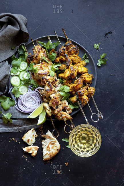 Chicken Kebab Dinner