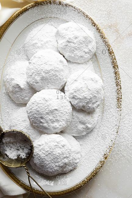 Gluten-free cookies (Wedding Cookies)