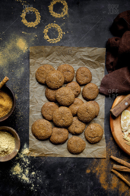 Ginger cookies with Molasses