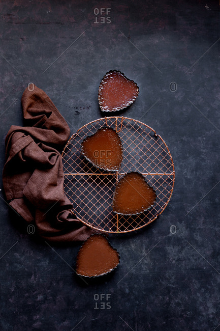 Chocolate Tart with Cocoa Almond Crust - Gluten-free