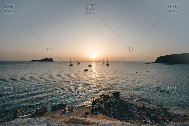 February 15, 2019: Sunset in Ibiza