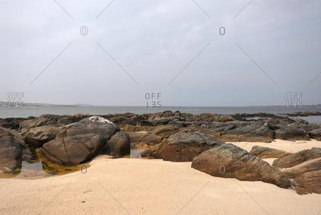 Rocky Ireland coast