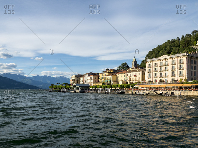 Italy- Lombardy- Bellagio- Lake Como