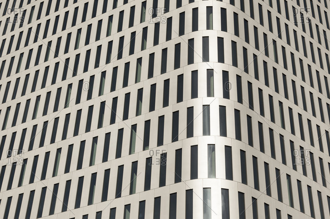 Germany- Munich- part of facade of Bavaria Towers