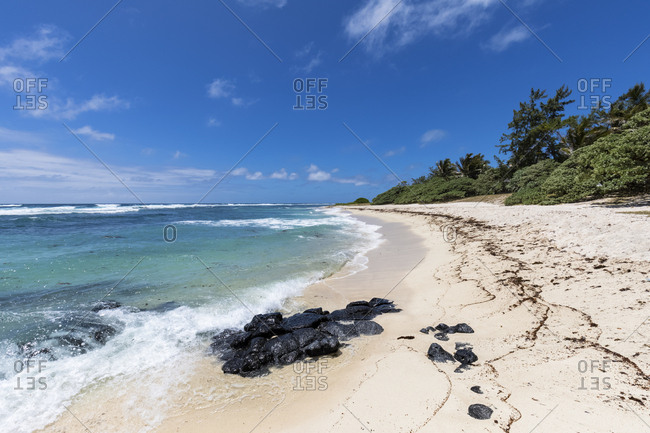 Mauritius- East Coast- Indian Ocean- Flacq- beach