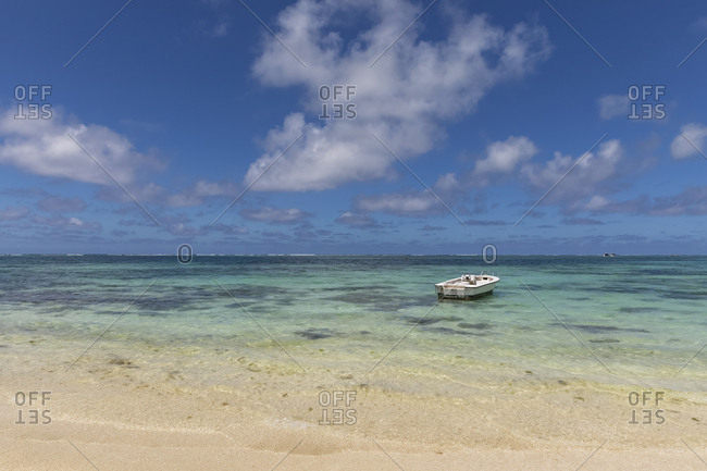 Mauritius- Flacq- East Coast- Indian Ocean- Belle Mare- boat