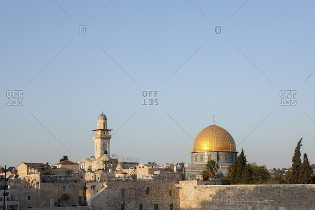 Israel- Jerusalem- Old town- Dome of the rocks