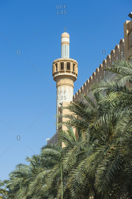 Arabia- Kuwait- Grand Mosque- minaret