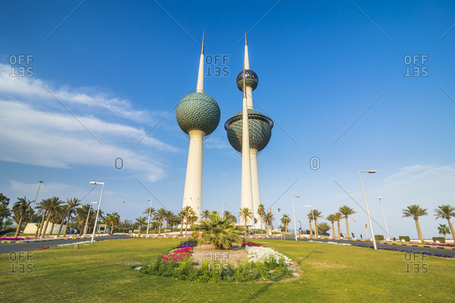 March 5, 2017: Arabia- Kuwait- Kuwait City- Kuwait Towers