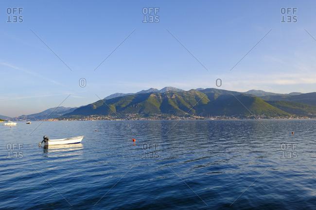 Montenegro- Herceg Novi- Bay of Kotor- View from Peninsula Lustica- Villages Denovici and Baosici