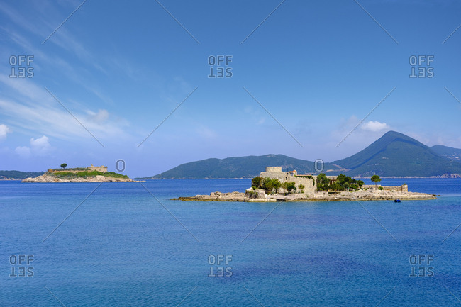 Montenegro- Bay of Kotor- Peninsula Lustica- Fort Mamula and Gospa Island