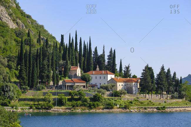 Montenegro- Bay of Kotor- Risan- Banja Monastery