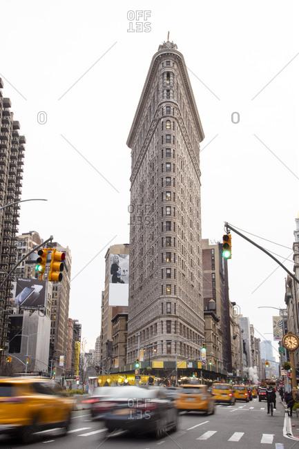 December 6, 2018: Flatiron building, New York City, New York