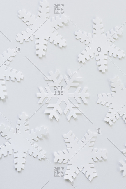 Paper snowflakes from the Offset Collection