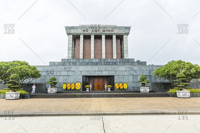 Tomb of Ho Chi Minh in Vietnam