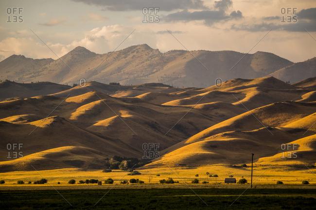 Mountains in Fairfield, Idaho