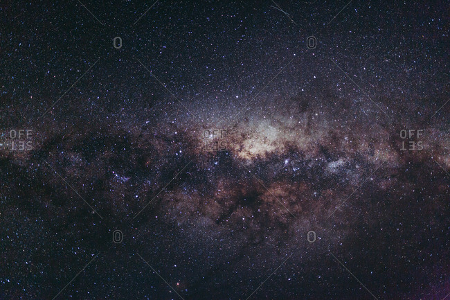 View of the Milky Way Galaxy