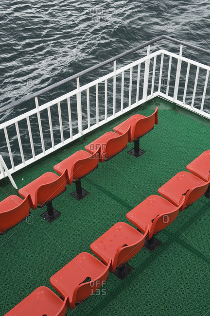 Seating on a Ferry
