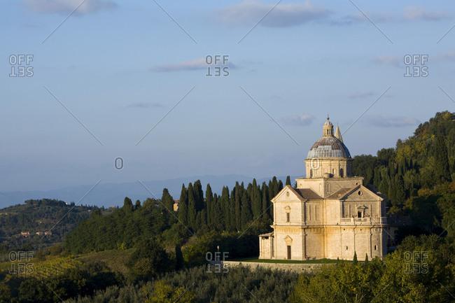 Church of Madonna di San Biagio, Montepulciano, Tuscany, Italy