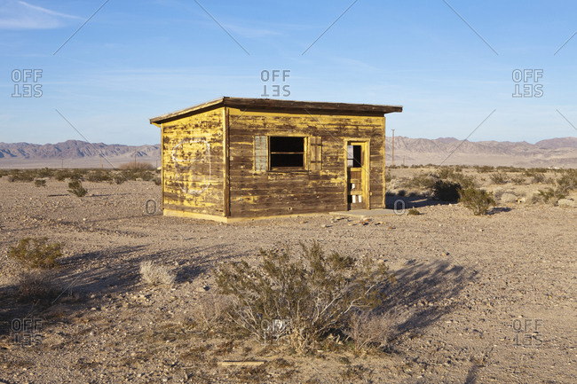 Abandoned Desert Home