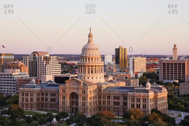 Austin, Texas, USAFebruary 8, 2019: Texas State Capitol