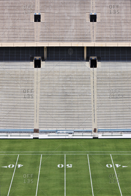 50 Yard Line and Seating