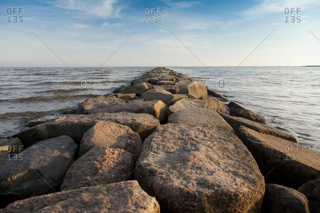 Rock Pier mear water