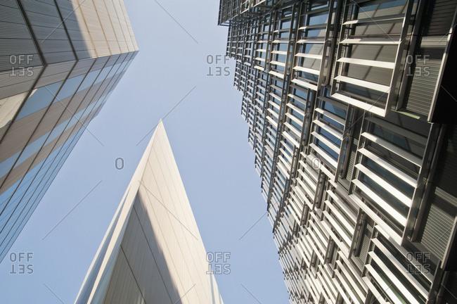 Modern London Office Buildings