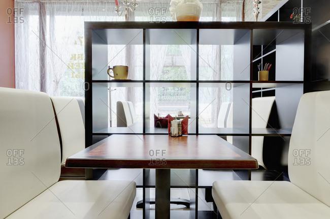 Contemporary Cafe Shelves