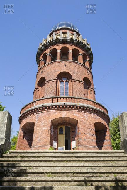 Germany- Ruegen- Bergen- Ernst Moritz Arndt tower on the Rugard