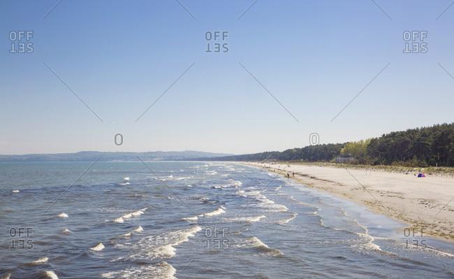 Germany- Ruegen- Binz- beach in Prora