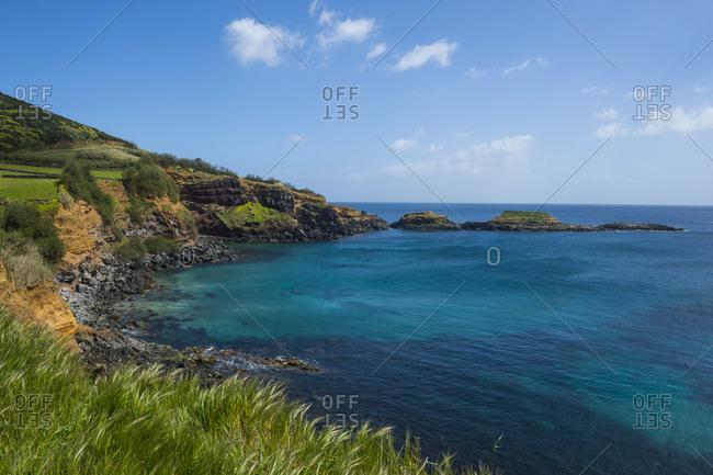Portugal- Azores- Island of Terceira- south coastline