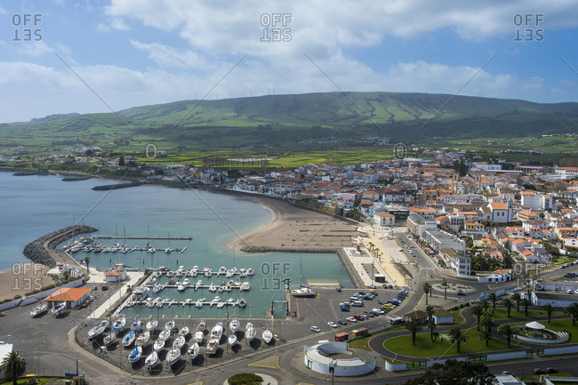Portugal- Azores- Island of Terceira- Praia da Vitoria