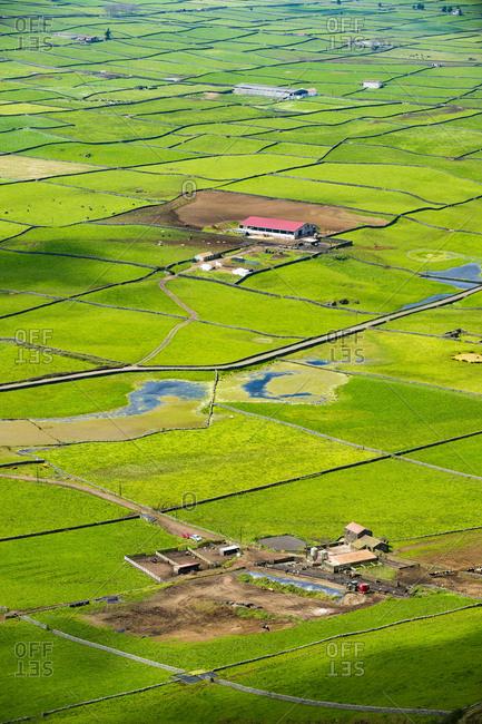 Portugal- Azores- Island of Terceira- Miradouro da Serra do Cume
