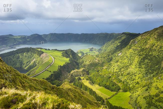 Portugal- Azores- Sao Miguel- Lagoa das Sete Cidades