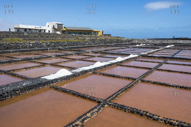 Spain - March 25, 2018:- Canary Islands- Fuerteventura- Salinas del Carmen- salt museum