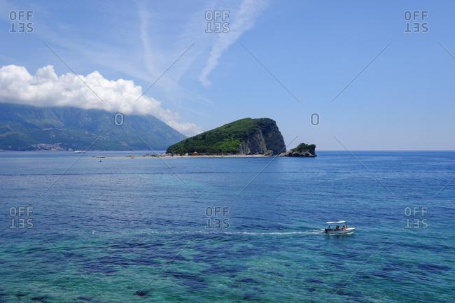 Montenegro- Adriatic Coast- near Budva- Sveti Nikola Island