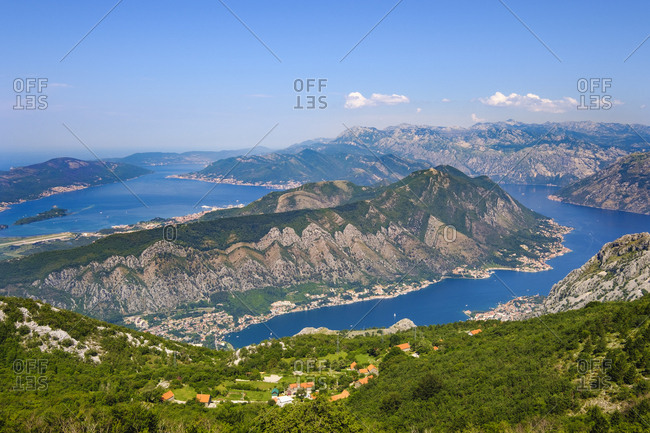 Montenegro- Bay of Kotor- near Kotor-  Peninsula Vrmac