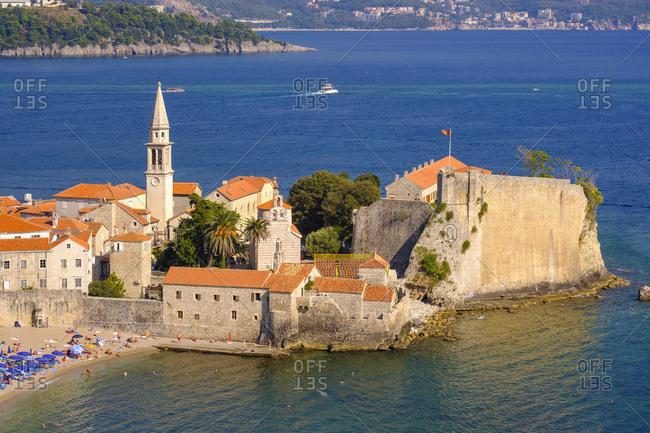 Montenegro- Adriatic Coast- Budva- Old town