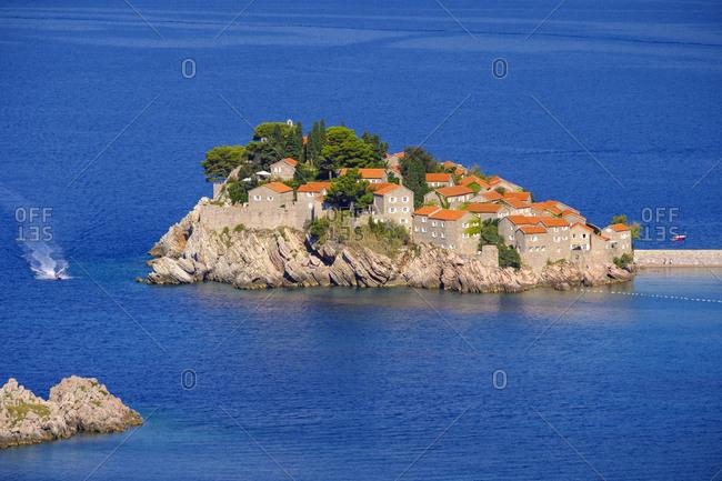 Montenegro- Adriatic Coast- Hotel Island Sveti Stefan near Budva